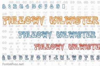 Phlegmy Kilmister Font