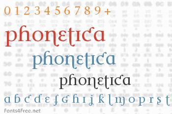 Phonetica Font