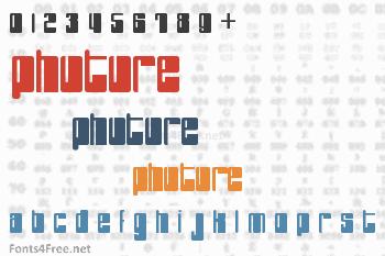 PHuture Font