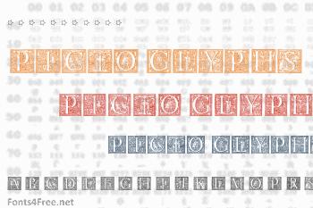 Picto Glyphs Font