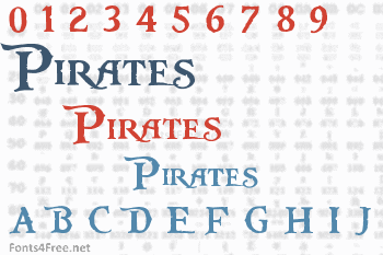 Pieces of Eight Font Download (Pirates of the Caribbean ...