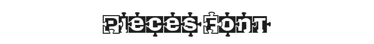 Pieces Font