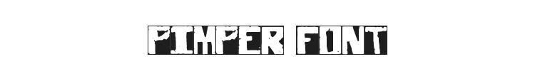 Pimper Font Preview