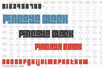 Pincoya Black Font