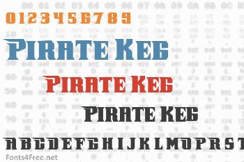Pirate Keg Italic Font