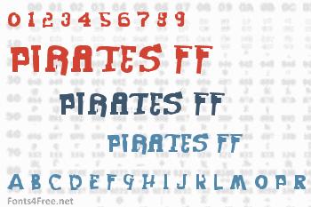 Pirates FF Font