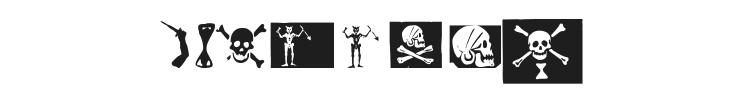 Pirates PW Font Preview