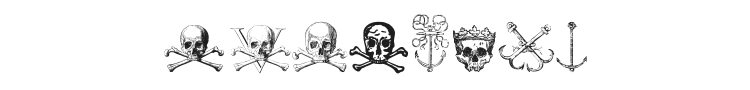 Pirates Two Font Preview