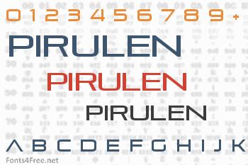 Pirulen Font