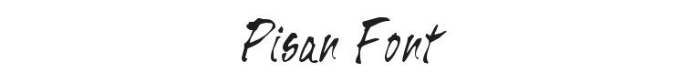 Pisan Font