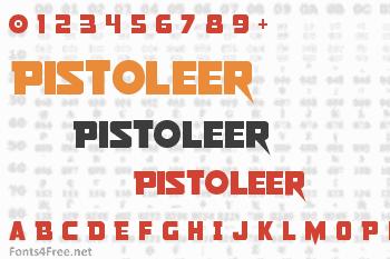 Pistoleer Font