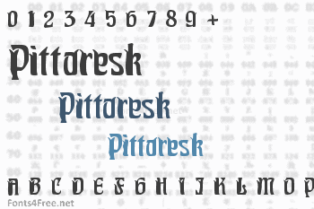 Pittoresk Font