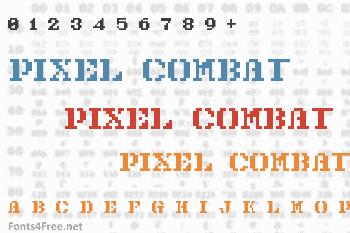 Pixel Combat Font