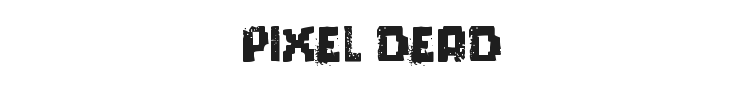 Pixel Dead Font