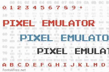 Pixel Emulator Font