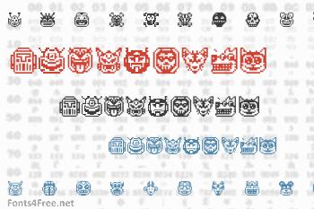 Pixel Freaks Font