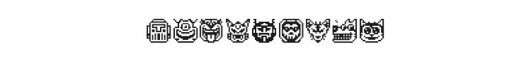 Pixel Freaks Font Preview