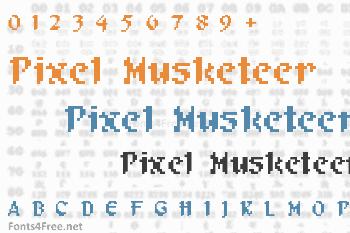 Pixel Musketeer Font