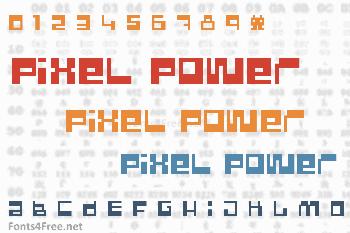 Pixel Power Font