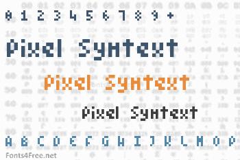 Pixel Symtext Font