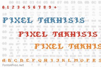 Pixel Takhisis Font