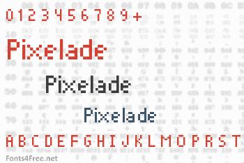 Pixelade Font