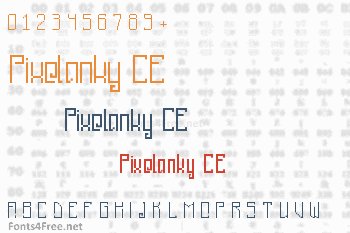 Pixelanky CE Font