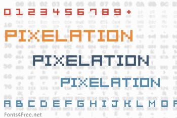 Pixelation Font