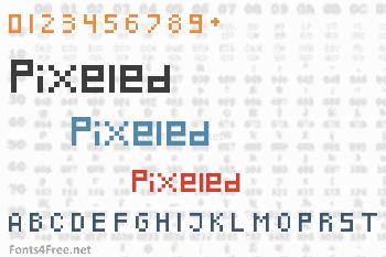 Pixeled Font