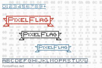 PixelFlag Font