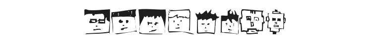 Pixelhead Handemade Font Preview