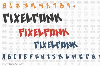 Pixelpunk Font