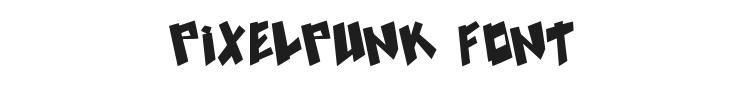 Pixelpunk Font Preview