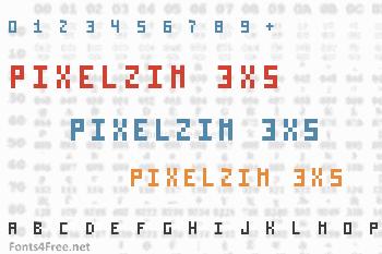 Pixelzim 3x5 Font