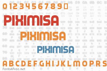 Piximisa Font