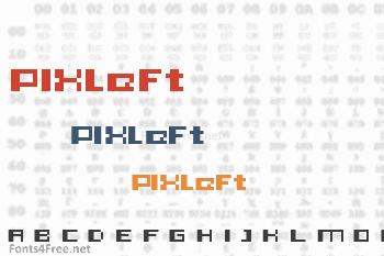 PIXleft_5 Font