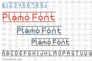 Plamo Font