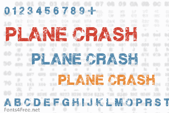 Plane Crash Font