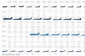 Planes-S-Modern Font
