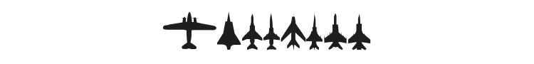 Planes-T-Modern Font Preview