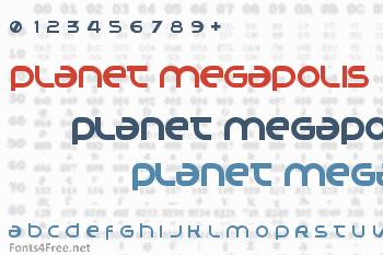 Planet Megapolis Font