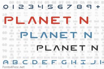Planet N Font