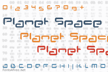 Planet Space Font