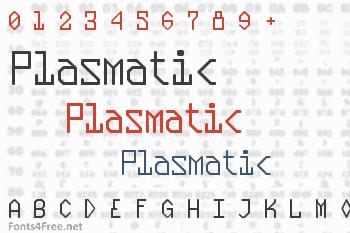 Plasmatic Font