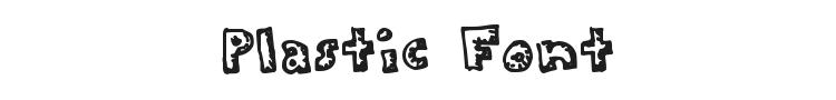 Plastic Font