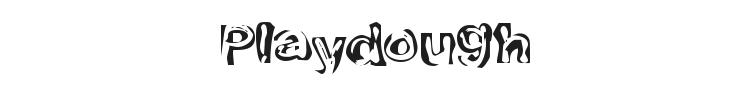 Playdough Font Preview