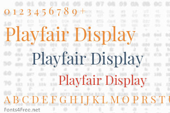 Playfair Display Font