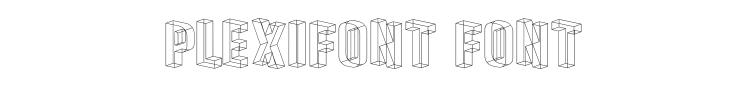 Plexifont Font Preview