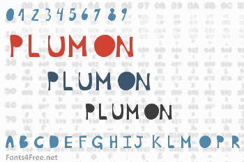 Plumon Font