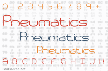 Pneumatics Font